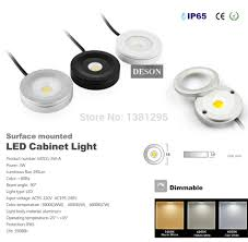 Under Cabinet Led Lighting Dimmable Aliexpresscom Buy Led Puck Light Thin Kitchen Under Cabinet Led