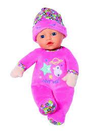 <b>Кукла Zapf Baby</b> Born for <b>Babies</b>, <b>мягкая</b>, с твердой головой, 827 ...