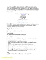 Google Cv Example Best Google Doc Resume Template Cover Letter Samples