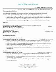 School Based Occupational Therapy Resume Sample Unique Professional