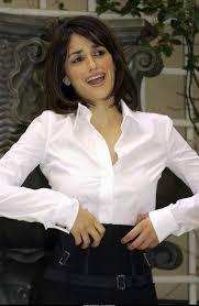 satin sexy blouse penelope cruz white blouse celebrity.