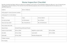 Inspection Checklist Template Excel Brrand Co