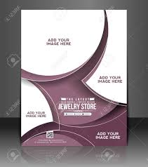 Jewelry Flyer Jewelry Store Flyer Poster Template Design