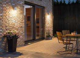 gardenlighting. want lights at the bottom of your garden pointing directly back patio or decking where they might dazzle someone sitting there; likewise, gardenlighting