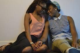 Big nice black lesbian