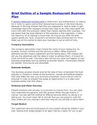 10 Restaurant Sales Plan Examples Pdf Word Pages For Business Plan