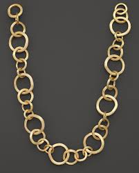 marco bicego jaipur 18k yellow gold necklace 19 fine jewelry bloomingdale s