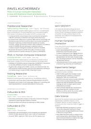 Resume Model For Experience Candidate 10 Phd Candidate Resume Sample Resume Samples