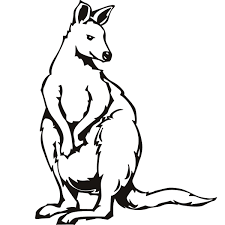 Small Picture Cool Kangaroo Coloring Page 45 8197
