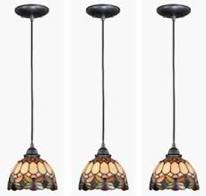 Lighting pendants glass Pottery Barn Details About New Tiffany Style 7 Takeluckhome New Tiffany Style 7