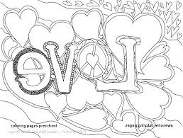 Coloring Pages Preschool Free Worksheets For Preschoolers New