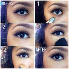 let s learn how to hide these dark areas with makeup just follow steps you ll