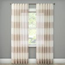metallic rugy stripe sheer curtain panel rose gold 54 x108 threshold
