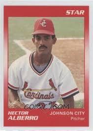 1990 Star Johnson City Cardinals - [Base] #1 - Hector Alberro