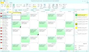 Request Off Calendar Template Staff Calendar Template