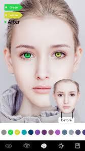 magic eye color face makeup