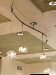 elegant pendant track lighting