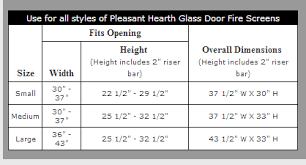 Fireplace Door Size Chart The 2018 Guide On Buying Home Depot Fireplace Doors Prefab