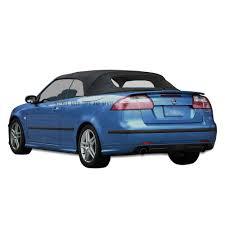 2004-2009 Saab 9-3 Black Convertible Top | No Window