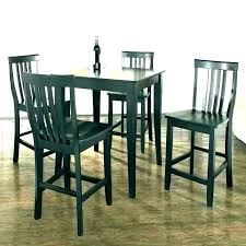 round pub table and chairs black high top set small for chair counter ch