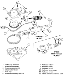 repair guides exterior antenna autozone com 4 exploded view of the slimline electric antenna used on 1979 82 vehicles