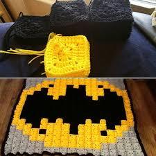 Batman Crochet Blanket Pattern
