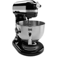 kitchenaid professional 600 series 6 qt black stand mixer