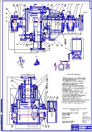 Все работы студента Клуб студентов Технарь  Система смазки бурового ротора Р 700 Чертеж Оборудование для бурения нефтяных и газовых