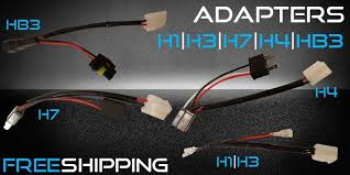 quick install adapters h1 h3 h7 h4 hb3 quick install adapters h1 h3 h7 h4 hb3 led