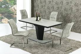 black glass extending dining table 6 chairs round glass dining table living round glass for dining black glass extending dining table 6 chairs white