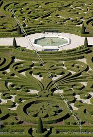 Small Picture Symmetrical Formal Garden Design