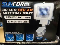Waterproof 80 LED Solar Powered Wall Light U2013 Motion Sensor Light 80 Led Solar Security Light
