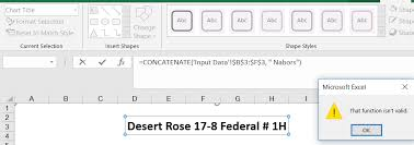 Excel Chart Title In Excel Issue With Concatenating Formula In Chart Title