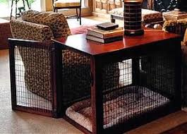 furniture pet crate. wood wire dog crate front entry furniture pet