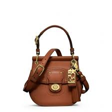 Lyst - Coach Legacy Leather Mini Willis in Brown