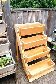 cedar garden box. Tiered Cedar Garden Box