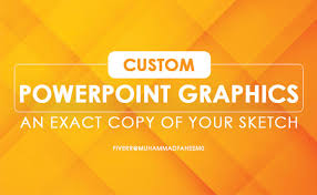 Recreate Graphics Charts Or Custom Shapes In Powerpoint