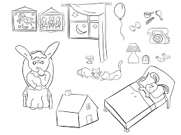 goodnight moon coloring page printable