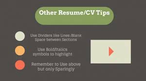 Video Resume Tips Resume Writing Tips 2018 Critical Components Of Resume