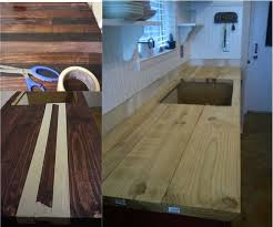 DIY Butcher Block Counter Tops - for $56...shhh