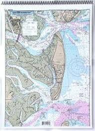 Captain Segull Chart No St129 Icw St Simons Sound To Tolomato River Fl
