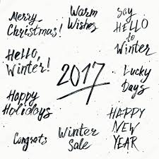Lettering Templates Christmas Lettering Templates Happy New Year 2017 And