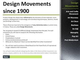 Design Movements Product Design Design Movements Since Ppt Download