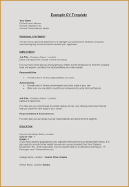 Achievements In Resume Custom Personal Statement Resume Examples Of Personal Achievements For