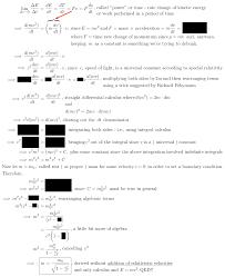 richard fehnmann relativisitc mass derivation