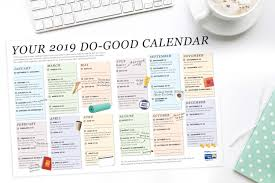 Best 2019 Calendar Design Good Calendar Design Disa