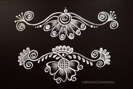 Border Alpana Design Pin By Pooja Bellas On Kolam Designs In 2020 Rangoli