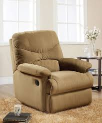 Next Living Room Furniture Glider Recliner In Living Room Modern With Overstuffed Cushions