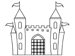Small Picture Free castle coloring pages for kids ColoringStar