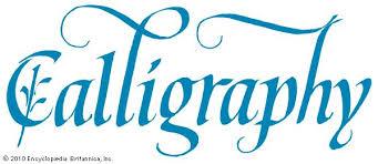 calligraphy britannica com